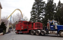 Rigging A Caboose Picture - C & D Rigging, Inc.