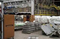 Picture Of The Change End Of A Furnace Used For Rigging - C & D Rigging, Inc.